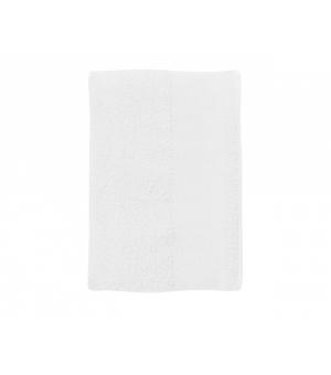 Asciugamano in spugna di cotone Bayside 50 SOL'S 500 gr. 50x100 cm bianco