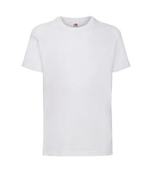 T-shirt Bambino Valueweight bianca fruit of the loom