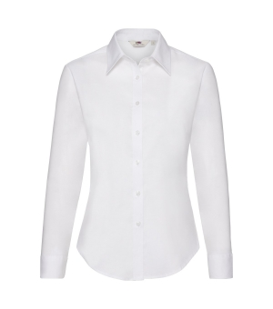 Camicia donna bianca Oxford Fruit of the Loom