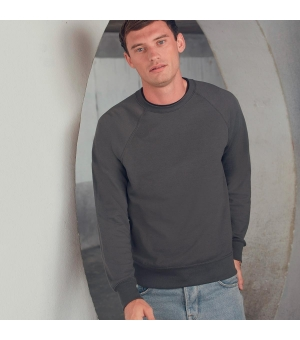 Felpa uomo Lightweight Raglan Sweat  Fruit of the Loom