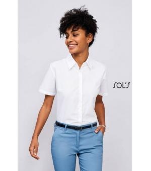 Camicie donna manica corta Elite SOL'S 135 gr