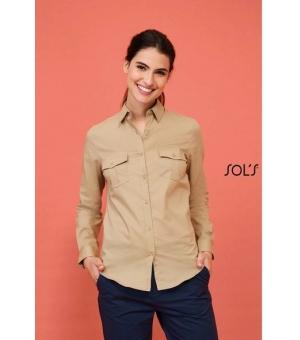Camicie donna manica lunga Burma Women SOL'S 110 gr