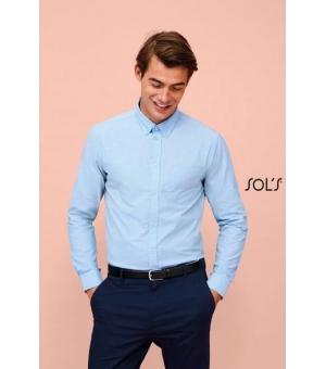 Camicie uomo oxford manica lunga Boston Fit SOL'S 135 gr