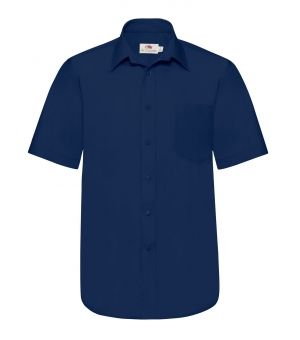 Camicia Uomo Poplin Shirt Long Sleeve Fruit of the loom