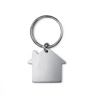 Portachiavi casa in metallo
