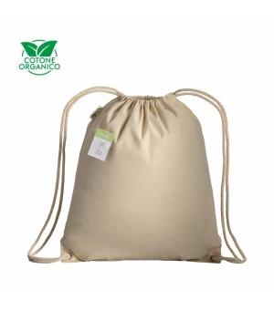 Zainetto in cotone organico