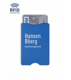 Porta carte di credito in PS con protezione RFID, con interno in alluminio.