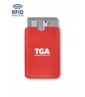 Porta carte RFID, in plastica