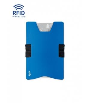 Porta carte di credito RFID. In alluminio