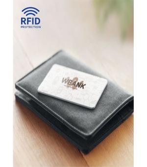 Scheda di blocco RFID con strato in alluminio