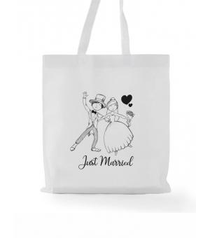 Wedding bag personalizzata in tnt