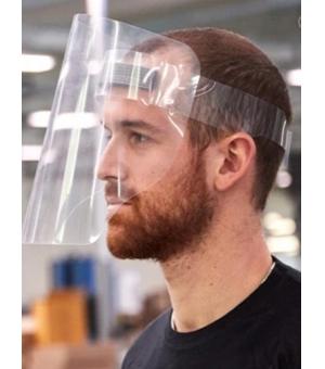 Visiera protettiva facciale in PVC 250 micron