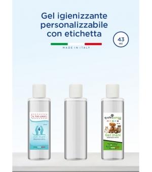 Gel igienizzante mani personalizzabile 43 ml