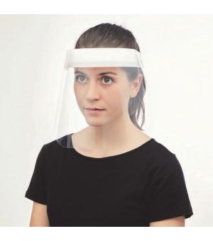 Visiera protettiva facciale in PET riciclabile