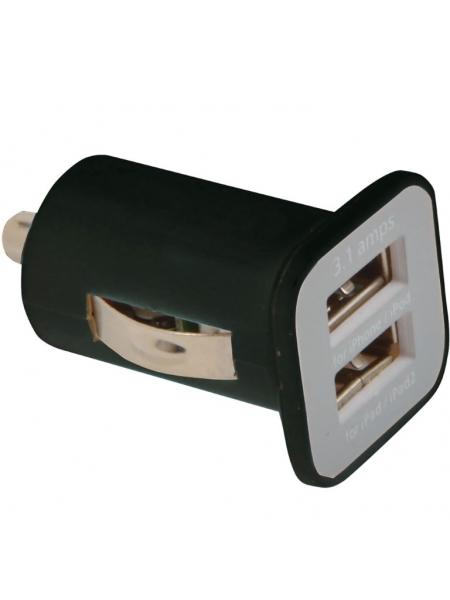 Micro caricabatterie USB da auto doppia porta