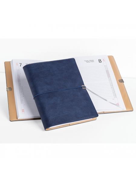 Agende portafoglio settimanali chiusura con elastico cm 19x25,5