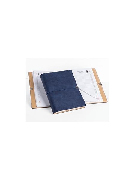 Agende portafoglio giornaliere chiusura con elastico cm 19x25,5 sabato e domenica separati