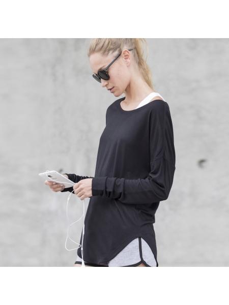 T-Shirt Women's Slounge Top Skinnifit