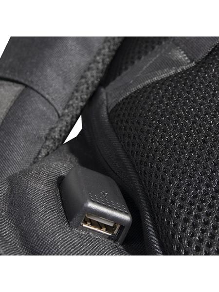 Zaino porta computer anti scippo Status cm 34x44x13