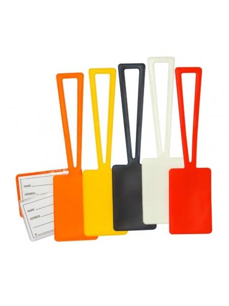 Portacartellino per valigia con Taschina 6,20  x  24,30 cm