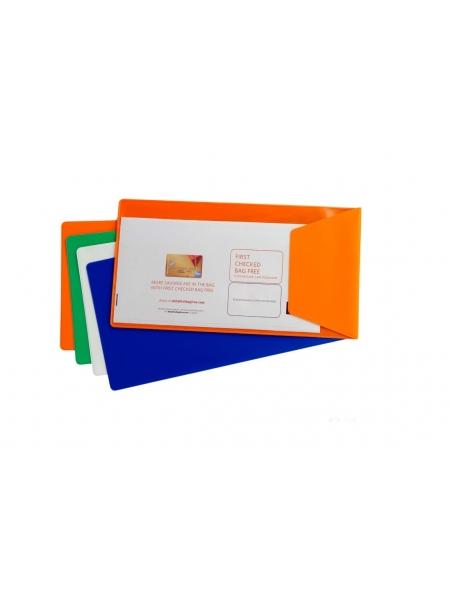 Busta portabiglietto con pattina obliqua 25,40  x 12,70 cm