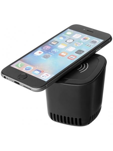 Altoparlante Bluetooth con base per ricarica senza fili Jack