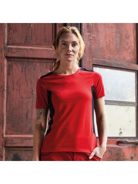 T-Shirt Ladies Workwear personalizzate James & Nicholson