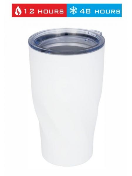 Bicchiere termico con isolamento sottovuoto in rame Hugo da 470 ml