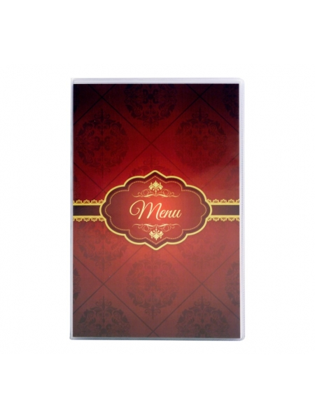 Portamenù Medio Con Tasche in Copertina 16,50 x 26 cm