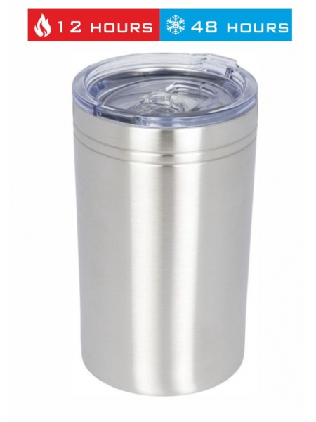 Bicchiere termico 330 ml con isolamento sottovuoto Pika