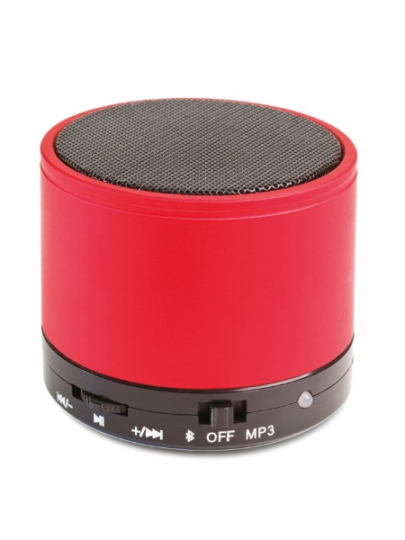 Mini altoparlante Bluetooth V 3.0 cilindrico in metallo