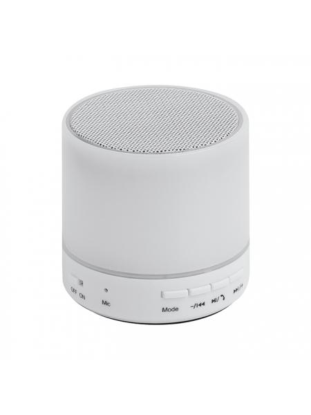 Speaker con luce a led 6 colori cm. 6x6