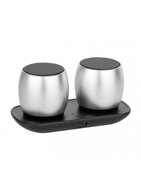 Speaker bluetooth in alluminio cm.12x5,8x5,8