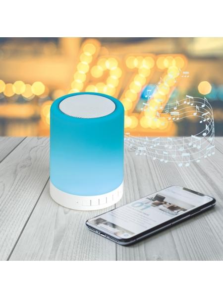 Speaker con lampada a 6 colori