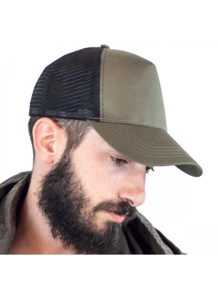 Cappello Rapper Cotton Atlantis