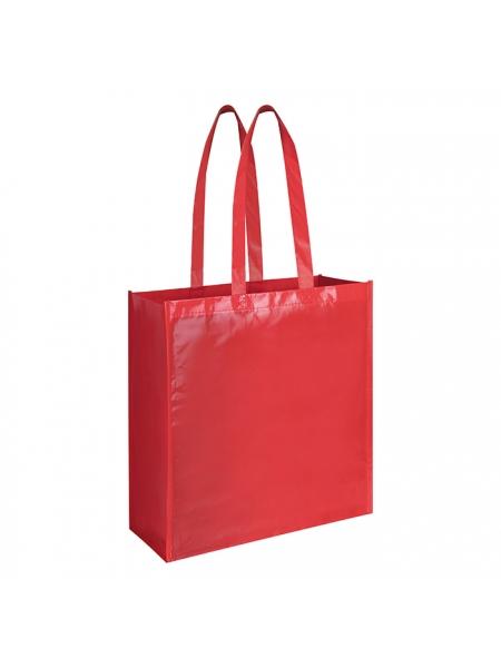 Borsa shopping con soffietto in polipropilene - 38x42x15 cm