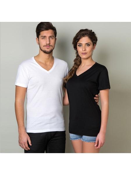 T-shirt adulto unisex scollo a V Formentera 150 gr