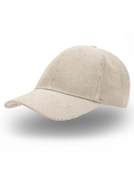 Cappellino Cordy con visiera pre-curvata e chiusura in velcro Atlantis
