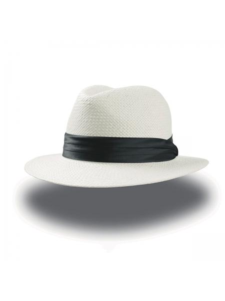Cappello Cortez con fascia in rayon Atlantis