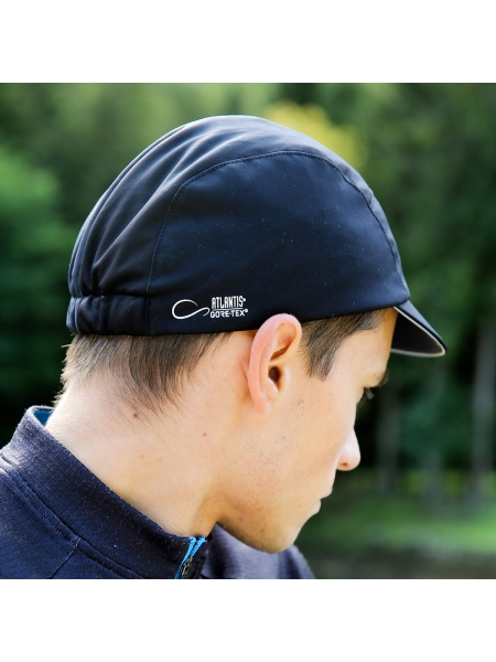 Cappellino Cycling Gore con piping riflettente e mesh interna Atlantis