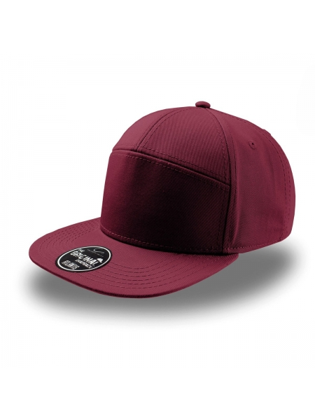 cappellino-deck-a-5-pannelli-con-visiera-piatta-e-chiusura-in-pvc-atlantis-burgundy.jpg
