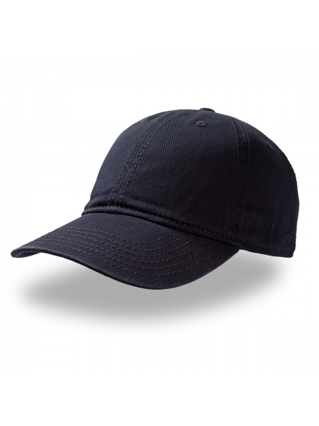 Cappellino Dynamic con 6 cuciture su visiera e chiusura in velcro Atlantis