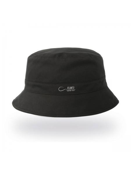 Cappello Bucket Gore modello Pescatore con parasudore in poliestere Atlantis