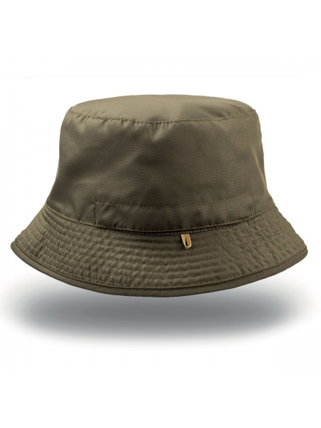 Cappello Bucket Pocket in tessuto morbido modello Pescatore Atlantis