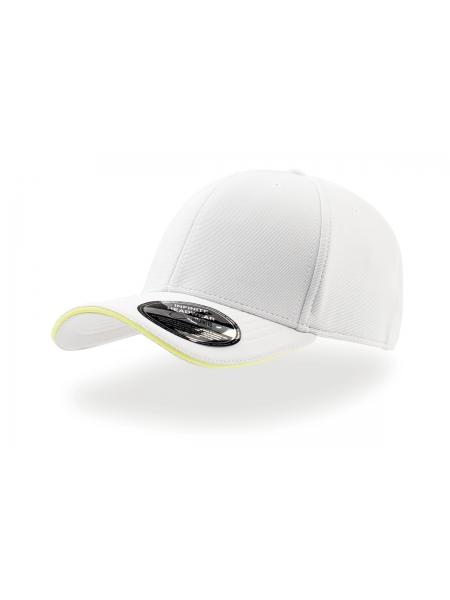 Cappellino Caddy con pannello frontale rinforzato e visiera pre-curvata Atlantis
