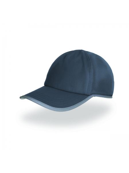 Cappellino Cap Gore a 5 pannelli con banda riflettente Atlantis
