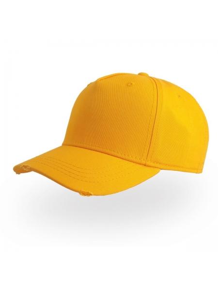 Cappellino Cargo con pannello front. rinforzato e parasudore in cotone Atlantis