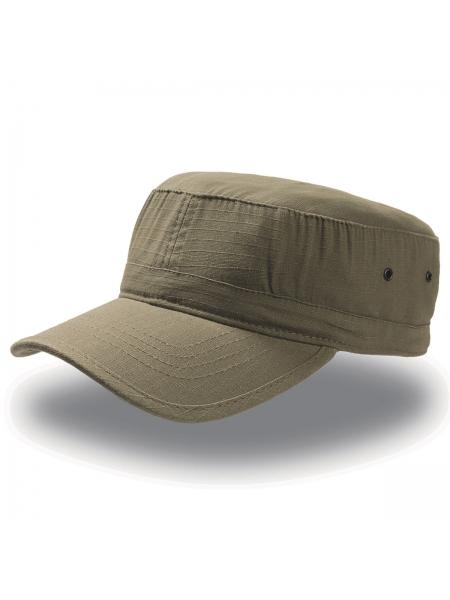 Cappellino da Baseball Army con visiera bordata Atlantis