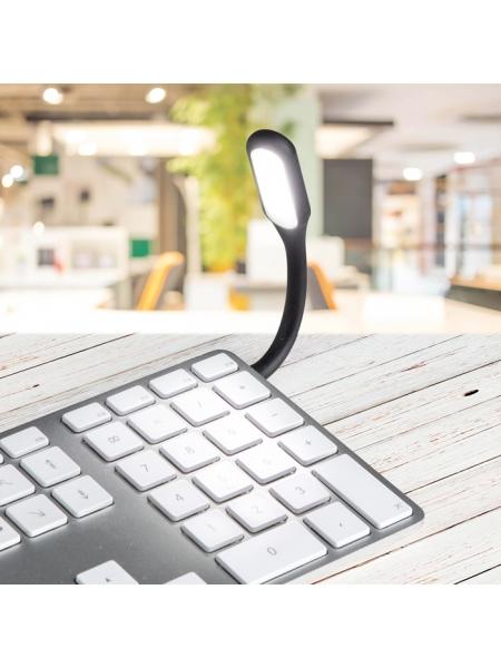 Lampada flessibile in ABS connettività USB