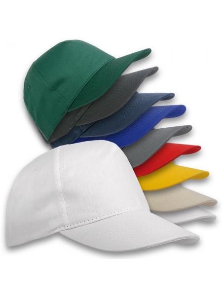 Cappellini baseball Houston 5 pannelli in cotone
